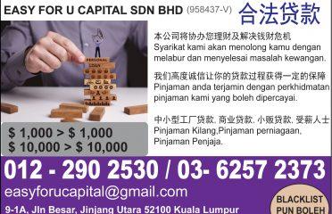 Easy for U Capital Sdn Bhd
